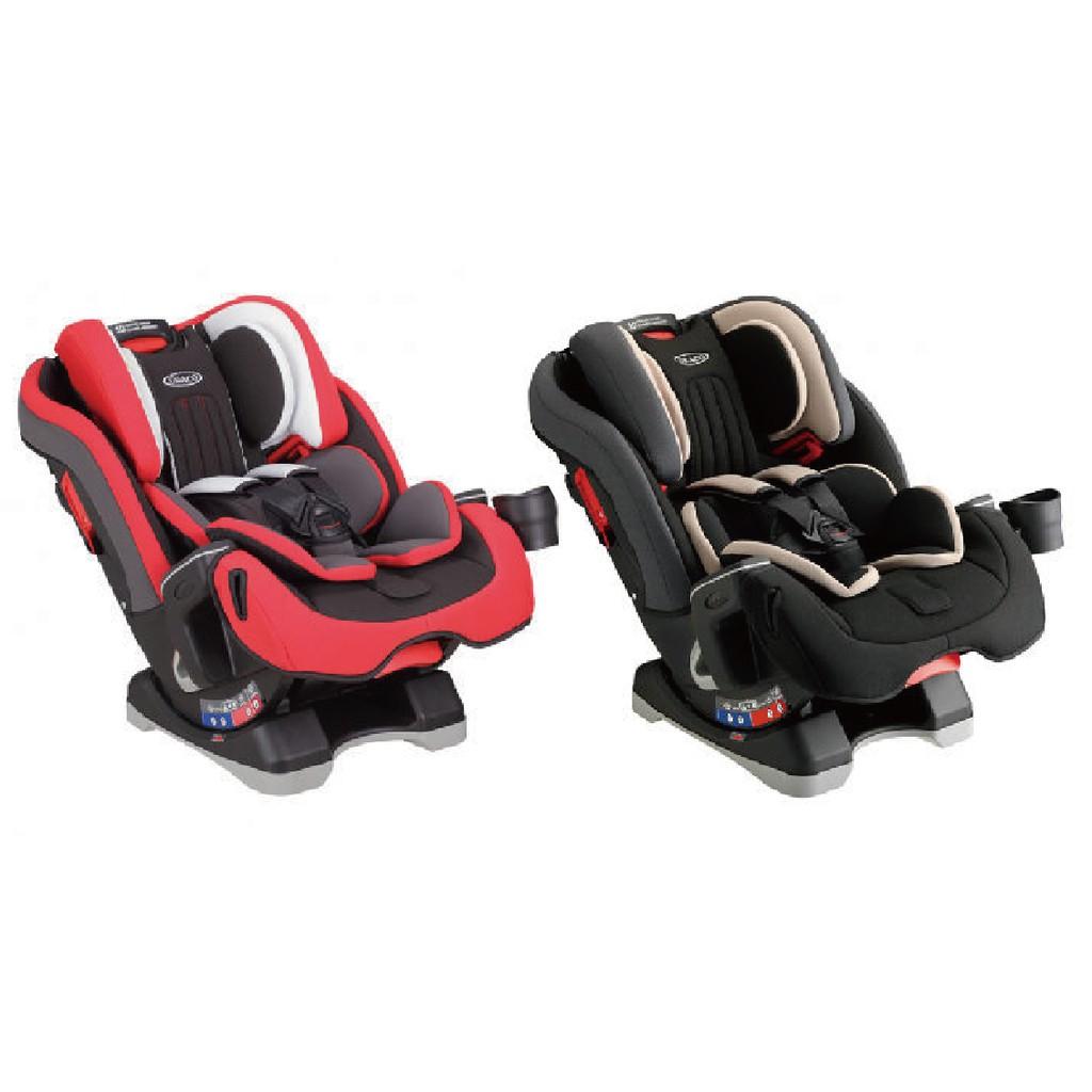 【公司貨/保固一年】GRACO 0-12歲長效型嬰幼童汽車安全座椅 MILESTONE™(紅熊/灰熊)