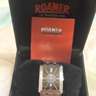 ROAMER羅馬錶 超薄酒桶型時尚脘錶