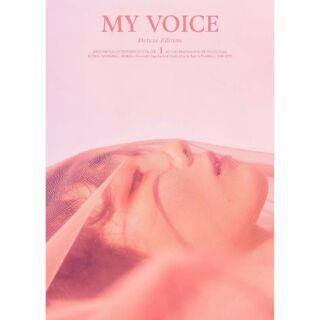 【代購】太妍 泰妍 Taeyeon 《my voice》改版 豪華專輯