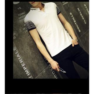 短袖T恤男韓版修身打底衫男士T恤潮流上衣男裝 E381