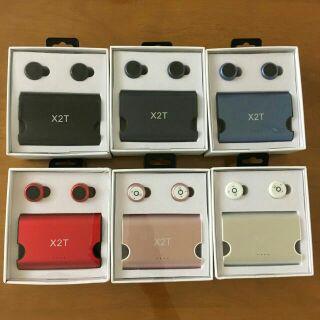《限時免運》快速出貨X2T雙耳藍芽耳機 運動雙耳無線藍芽耳機 無線耳機 藍牙4.2立體聲耳機 X1T升級版