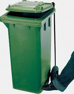 腳踏掀蓋拖桶120公升 掀蓋垃圾筒 掀蓋回收桶 資源回收桶 二輪拖桶