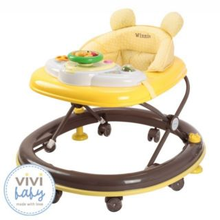 Vivi Baby 維尼熊(黃色) 學步車 螃蟹車