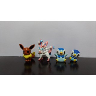 迷你公仔盒玩球玩 伊布/仙子伊布/波加曼 神奇寶貝/精靈寶可夢