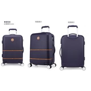 『好市多店小二』GOBY 果比 Palmer系列 20吋萬向輪硬殼拉桿登機行李箱 8輪 原價2280