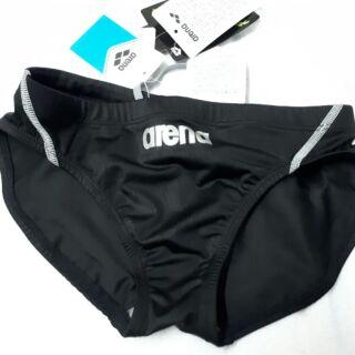 Arena黑色低腰三角泳褲