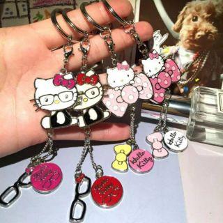 Kitty鑰匙圈kitty吊飾kitty飾品kitty鑰匙釦畢業禮物