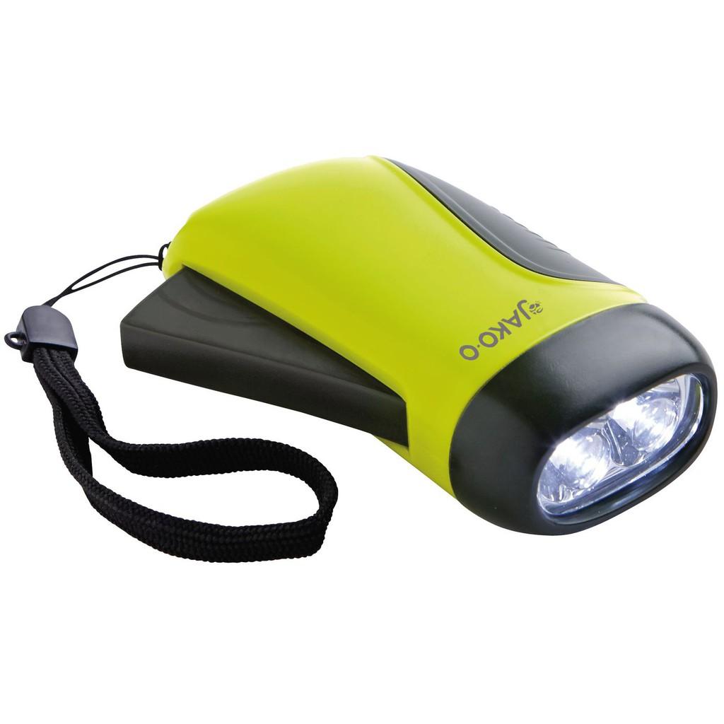 【JAKO-O德國野酷】手壓式發電LED手電筒