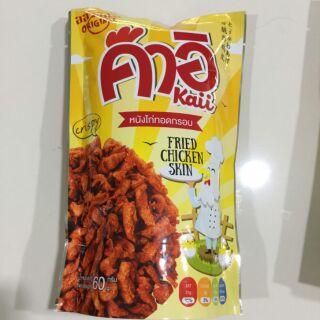 泰國Kaii 香脆炸雞皮 60克