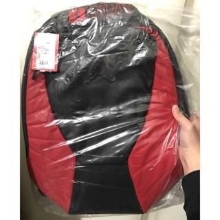 Jordan 12代 黑紅 灰色 後背包