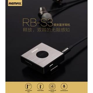 【世明國際】REMAX RB-S3 領夾藍芽耳機 商務通用4.1立體聲 商務藍牙耳機