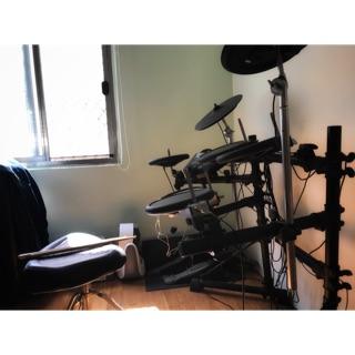 Roland TD-6V 電子鼓,網狀小鼓 (附鼓椅)