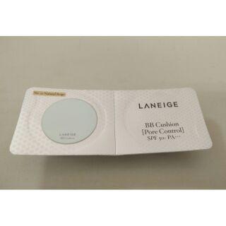 LANEIGE 蘭芝 氣墊粉餅 BB舒芙蕾水凝霜毛孔隱形升級版2g 色號 %2313