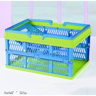 (現貨) 折疊購物籃 野餐籃