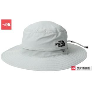 -滿3000免運-[雙和專賣店] THE NORTH FACE 抗UV遮陽帽/NF00CF7T/灰