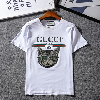 【2件1000】Gucci短袖 古馳短袖 短袖T恤 印花短袖 情侶T恤 GUCCI短T 男生T恤 女款短袖 短袖 短袖女