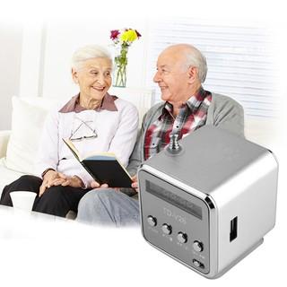 USB 立體聲超低音揚聲器音樂MP3 收音機小鋼炮mp3 喇叭插卡音箱MP3 音箱可