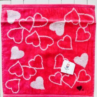 日本製 今治心型毛巾手帕巾 現貨