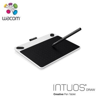 (公司貨代購加碼贈原廠保護套)Wacom Intuos Draw 塗鴉創意繪圖板-白/藍兩色(小)CTL-490