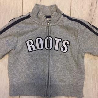 Roots灰色薄外套