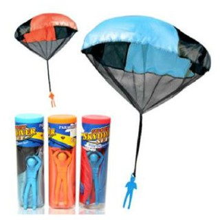 兒童手拋式降落傘 玩具 戶外活動 草地 親子 露營 禮物 小孩 消耗體力