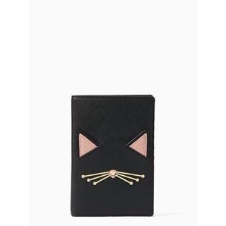Kate Spade 貓咪護照夾
