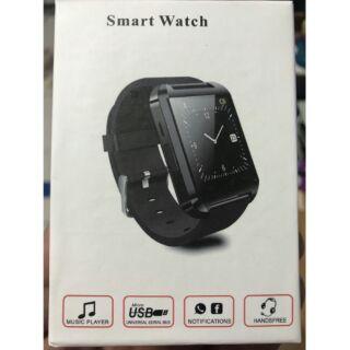 【出售】手錶名稱:Smart Watch 智慧觸控藍牙通話手錶 - 騎士黑-豔麗紅、黑