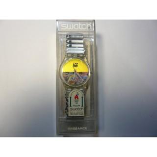 1996 Olympic Games奧林匹克運動會 SWATCH限量紀念錶 (全新只更換電池)