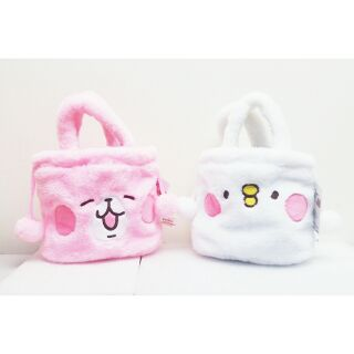 ★娃娃兵★ Kanahei 卡娜赫拉小動物兔兔小雞P 助束口袋化妝包收納袋置物袋手