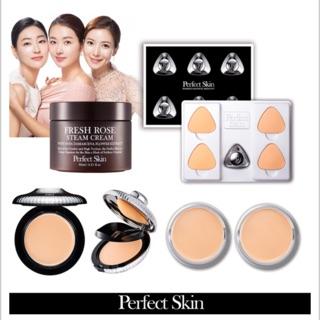 第五代 韓國perfect skin全新磁力服貼女明星粉底