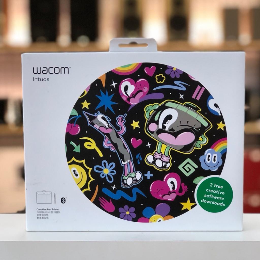 公司貨 Wacom Intuos Comfort Small 繪圖板 藍牙版 粉 黑 綠 藍牙 無線繪圖版