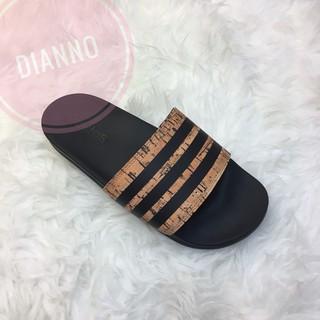 帝安諾-Adidas Adilette CF+cork 木紋 運動拖鞋 CG3413 記憶鞋墊