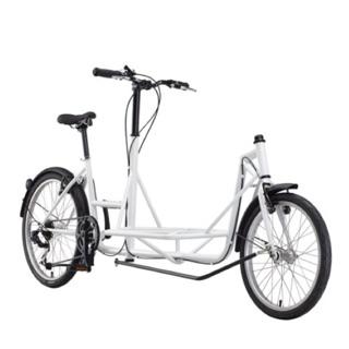 ~降價出售~ Pick up Sliders bike 皮卡自行車 白色款 7段變速 小貨車 餐車 咖啡餐車 野餐 遛狗