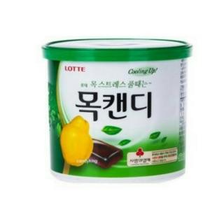 韓國樂天原味檸檬、藍莓喉糖