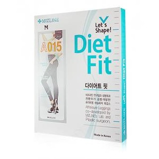 韓國 MIZLINE Let's Shape Diet Fit A015瑜珈褲 一入