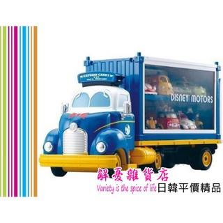 解憂雜貨店%23日本進口 TOMICA 唐老鴨 貨櫃車 聯結車 合金 展示 紀念車 (不含小車)
