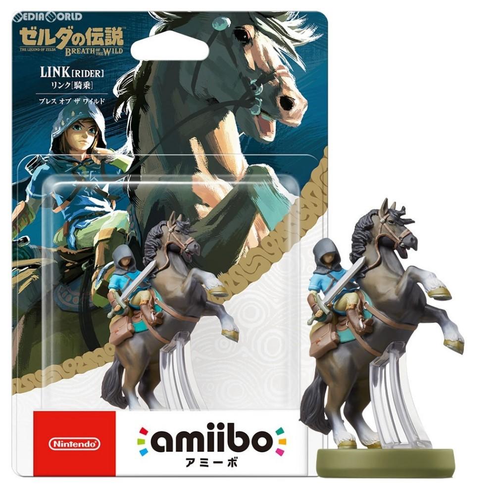 Nintendo Switch 薩爾達傳說 荒野之息 amiibo 騎乘林克 LINK 騎馬 【臺中星光電玩】
