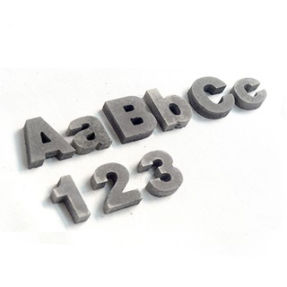 阿拉伯數字模具Ins 水泥數字門牌號服裝店店面裝飾復古水泥家居數字香薰石膏矽膠模具樹脂混泥土