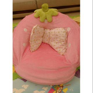 粉紅草莓沙發椅