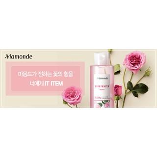 [現貨] 韓國Mamonde夢妝  90.89%大馬士革玫瑰水 保濕聖品 下單送贈品