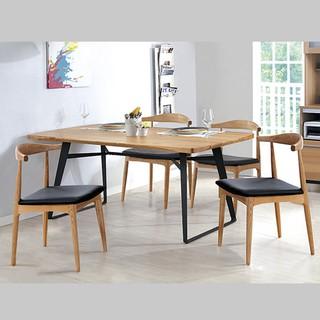 實木6尺餐桌艾森ML747-2