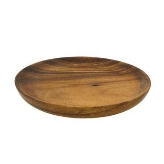 洋槐圓盤 菲律賓進口黒木相思木果盤 金合歡實木盤零食盤 PPW040