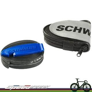 【速度公園】Schwalbe 坐墊包 Race saddlebag / SV15 700C 內胎x1 / 挖胎棒x2
