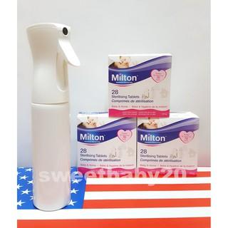 Milton 米爾頓消毒錠 300ml連續強力噴霧瓶 噴瓶 分裝瓶