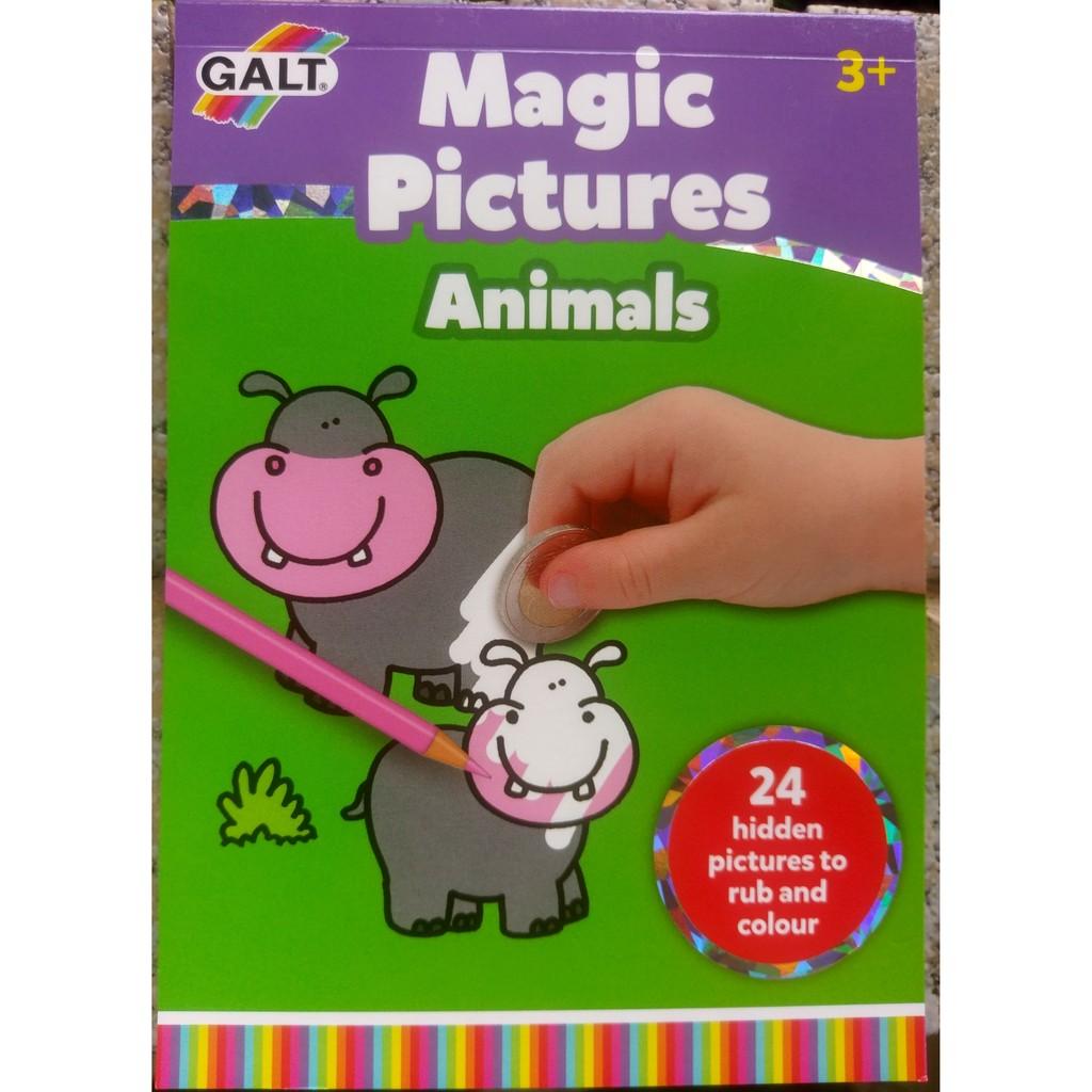英國 Galt 動物刮刮樂 Magic Pictures Animals