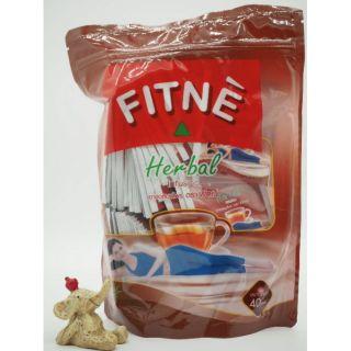 【泰幸福】現貨到  泰國 TH購入 天然草本茶茶包 FITNE  紅茶口味  40入