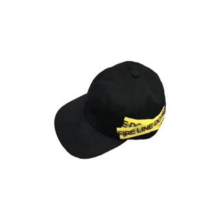 Off-white警戒線帽子
