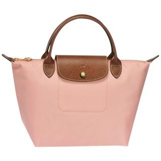 我愛巴黎* Longchamp S短帶手提水餃包 2017春夏 粉膚色Rosé 現貨