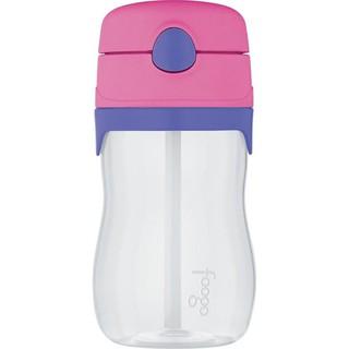 現貨 美國膳魔師Thermos Foogo食品級Tritan材質 吸管杯水壺 325ml 粉紫色