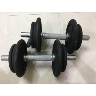 二手運動器材️迪卡儂 啞鈴 10kg*2